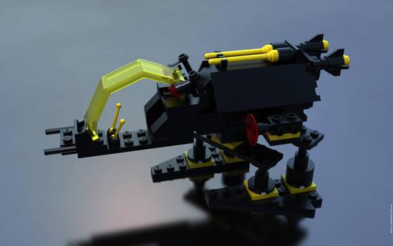 Lego 6876 Blacktron Alienator