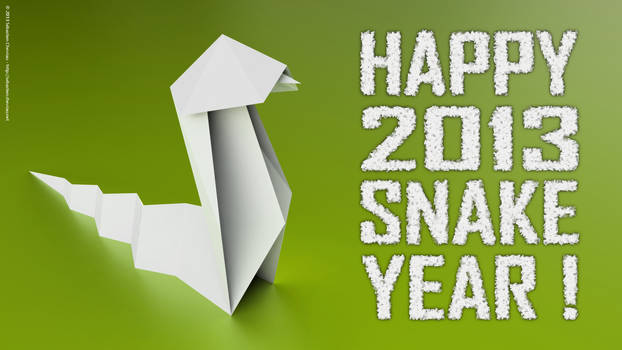 Happy 2013 Snake Year !