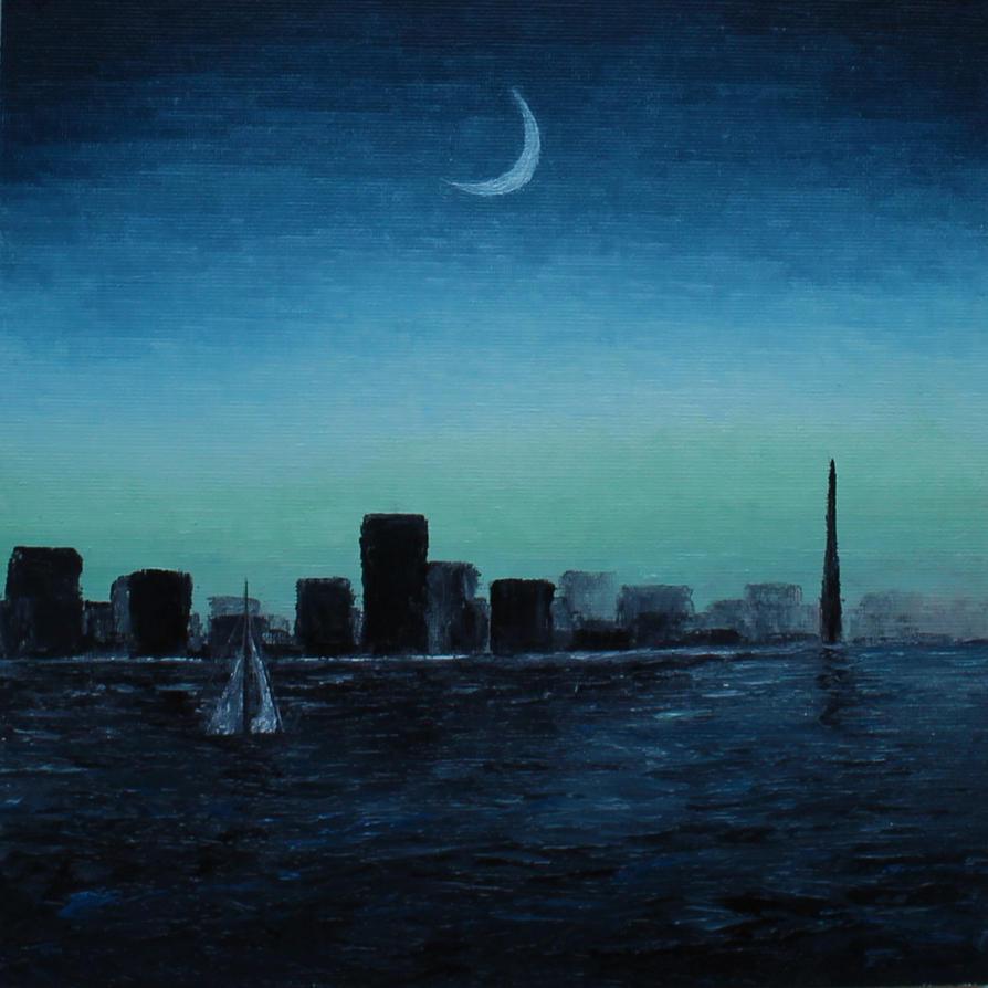 night is coming - no.64 by KPaya