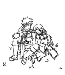 Ike and Soren by ScytheDancer