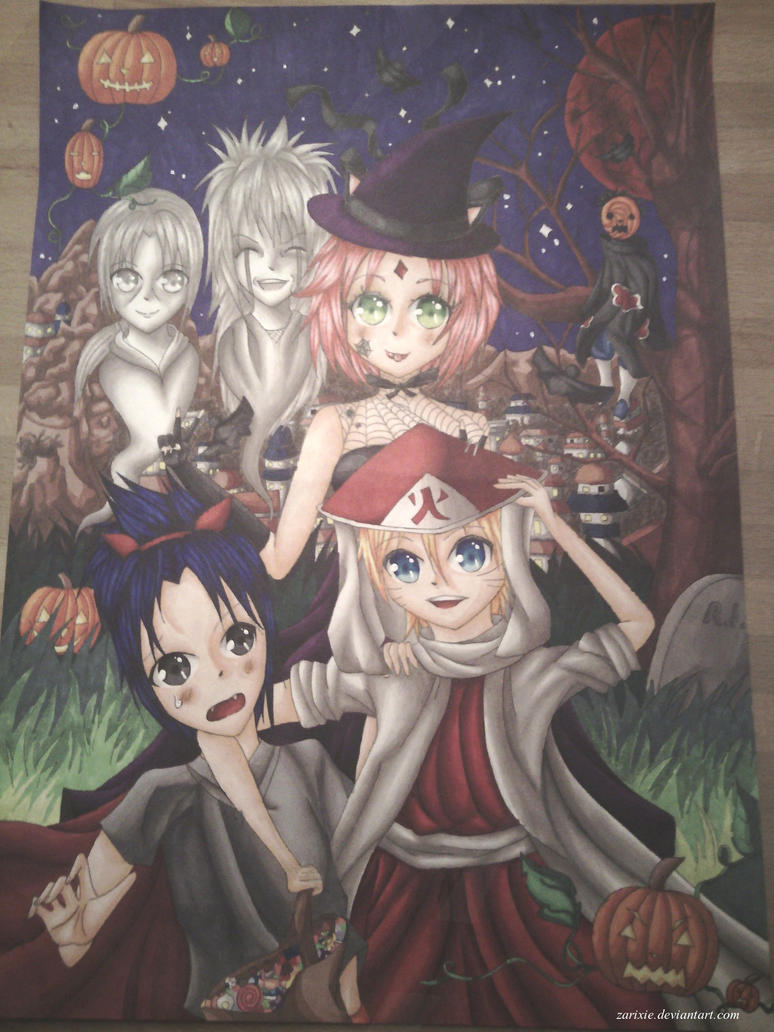 Naruto Hallowen by Zarixie