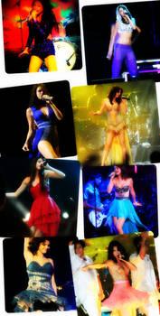 Selena gomez tour outfits
