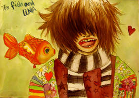 The fish and Lina by Lapaka