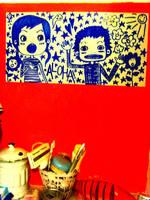 bathroom by Lapaka