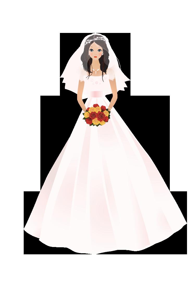 Bride Illustration by Alexandra-Ipate on DeviantArt