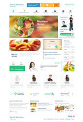 Diet and Nutrition Health Center Wordpress Theme by Alexandra-Ipate