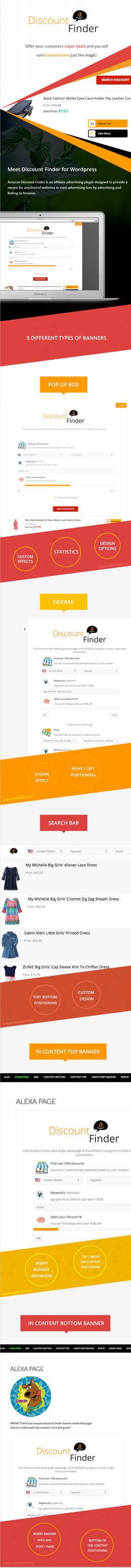 ADF - Amazon Discount Finder for Wordpress
