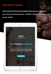 Personal Trainer / Premium Responsive Theme by Alexandra-Ipate
