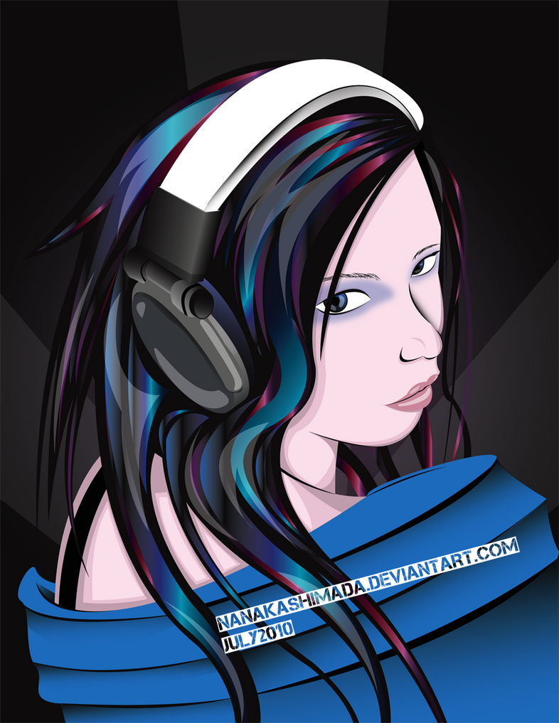 Head Set Radio by NanakaShimada