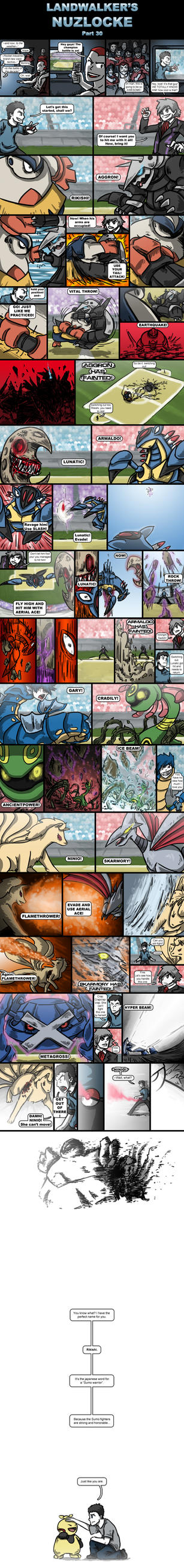Landwalker's Nuzlocke- part 30 by land-walker
