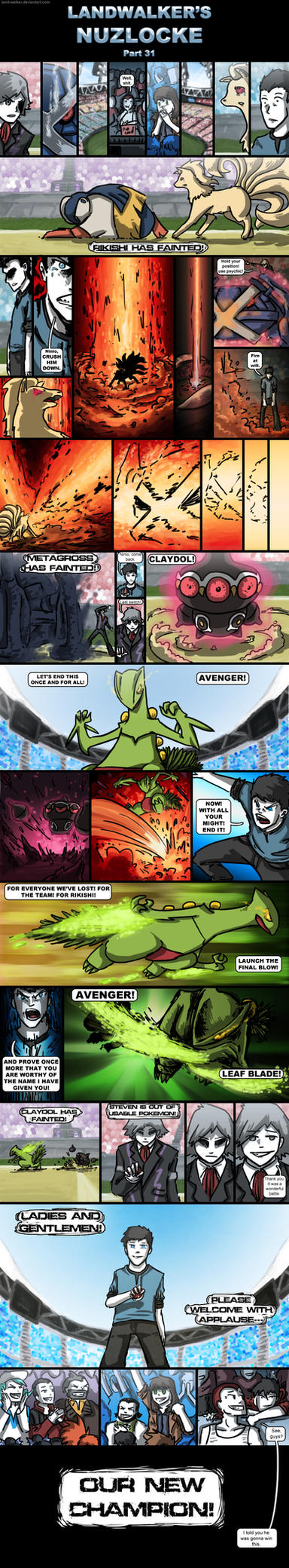 Landwalker's Nuzlocke- part 31 by land-walker
