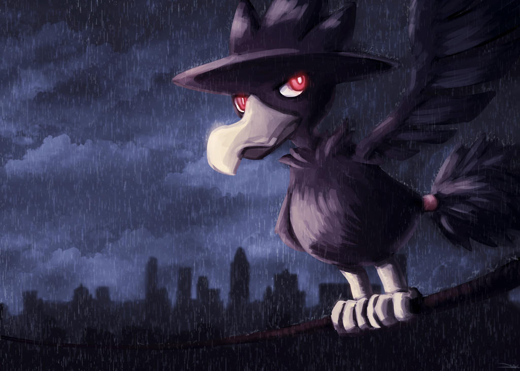 Murkrow by land-walker