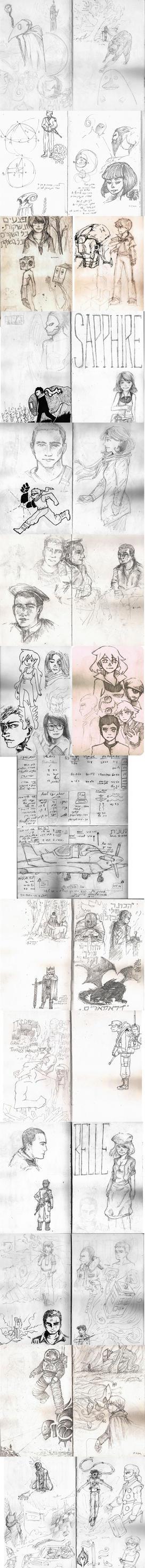 Army sketchbook by land-walker