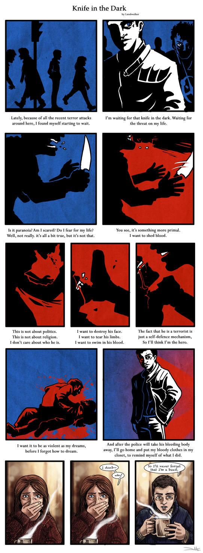 Knife in the Dark by land-walker
