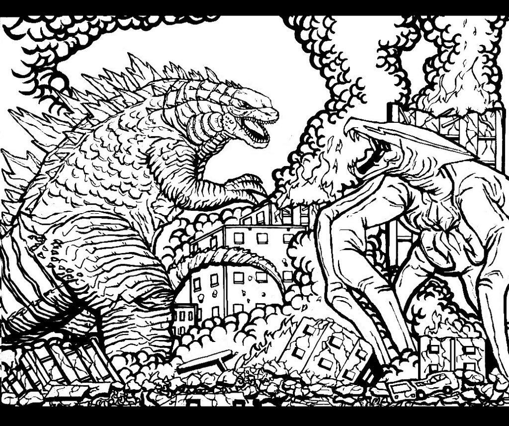 Godzilla Vs MUTO By Godzillafan1954 On DeviantArt