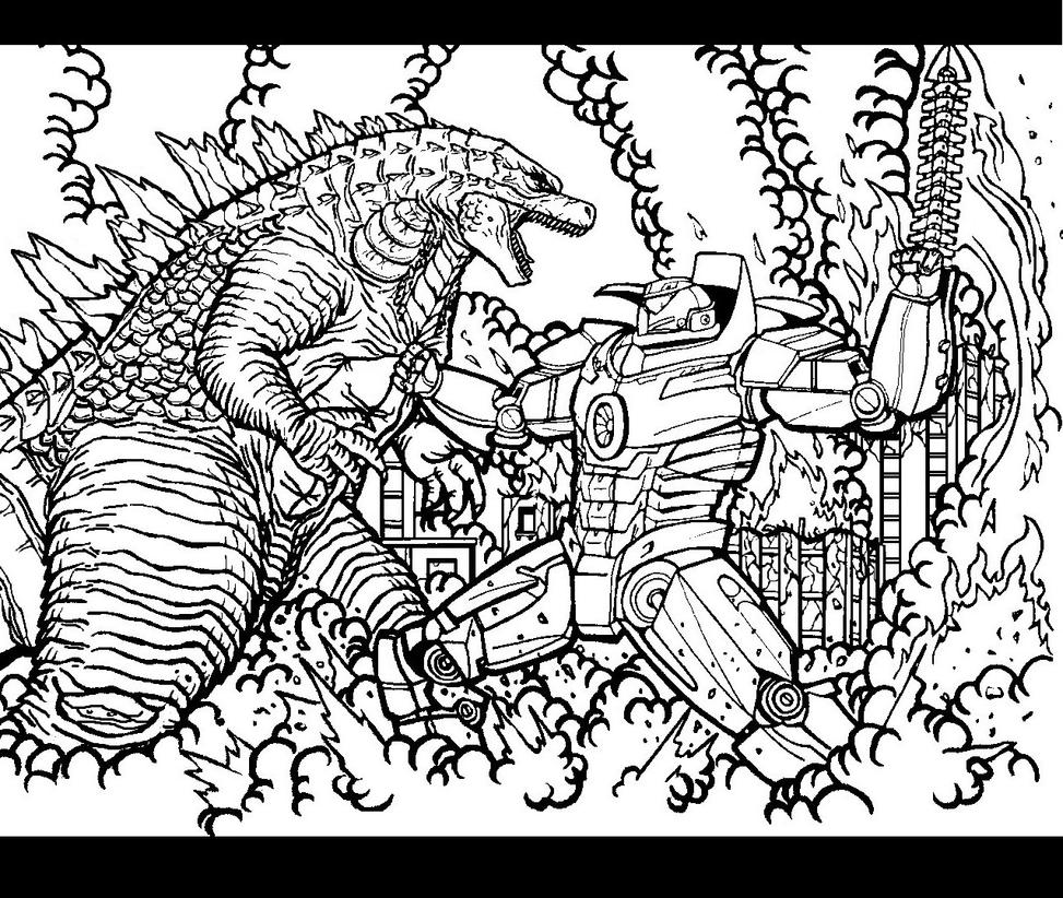 Godzilla vs Gypsy Danger by godzillafan1954 on DeviantArt