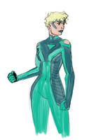 Viridian Sketch 2 by jamesdawsey
