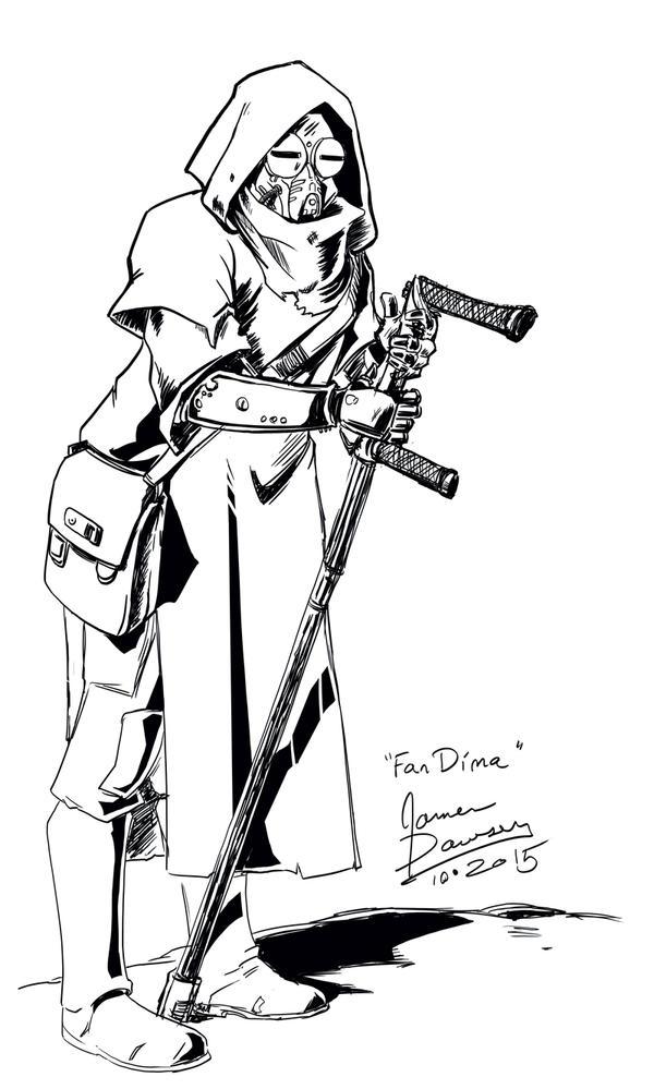 Fan-Dima-Sketch-01 by jamesdawsey