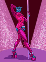 Asari Pole Dancer