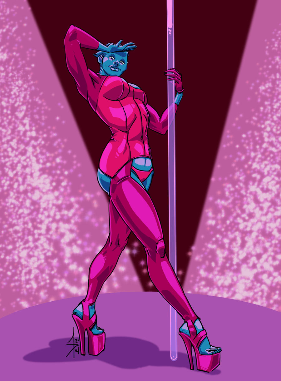 Asari Pole Dancer