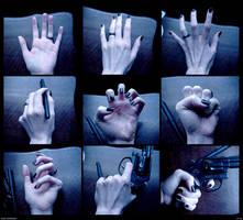 Hand Reference by PsychoDjinn