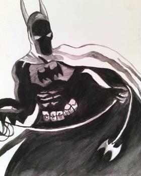 Batman Acuarela/Watercolor