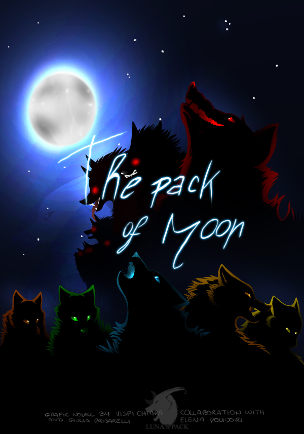 New cover: the pack of moon by thelunapower