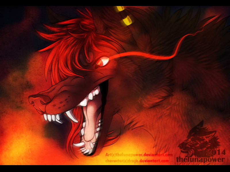 Prize: Heashot -Bloodfang- by thelunapower