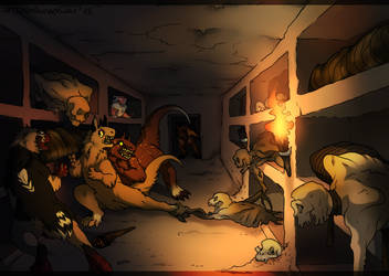 [Traveling] Catacombs by thelunapower