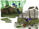 [Monthly] Blue and the froggies