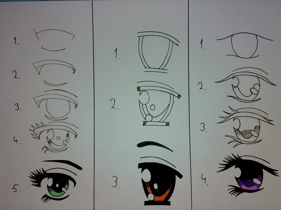 Another How to Draw Eyes by ~Haizan93 on deviantART