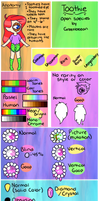 Toothie Guide by GreenBeean