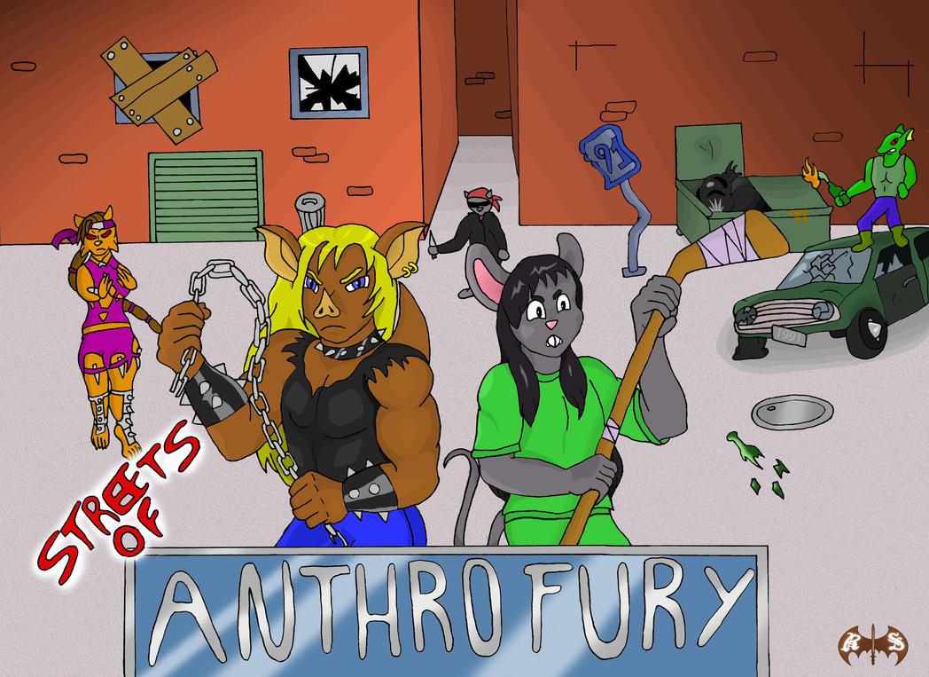 Streets of Anthro Fury by Roadkill-Sarny
