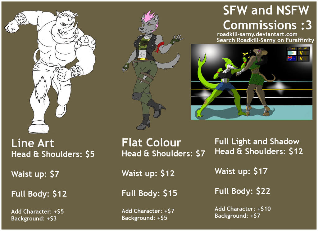 COMMISSIONS ARE OPEN (SFW and NSFW)