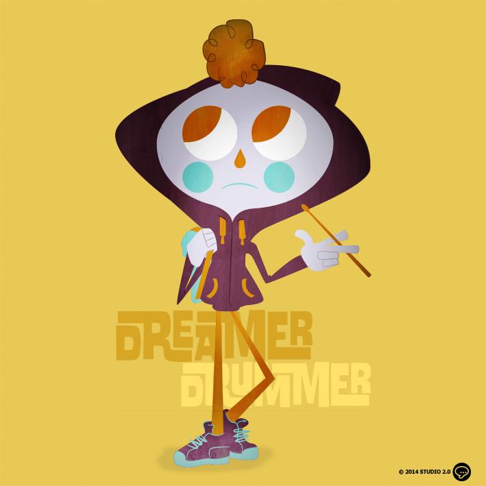 DREAMER / DRUMMER by dblackhand