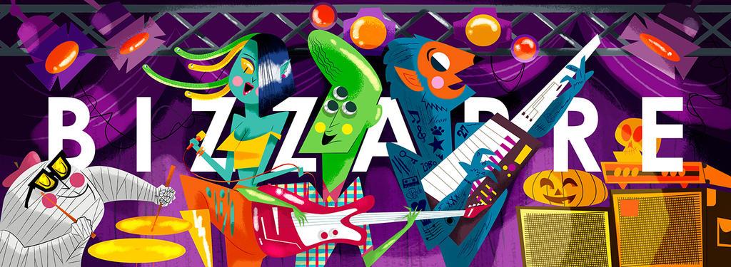 B I Z Z A R R E by dblackhand