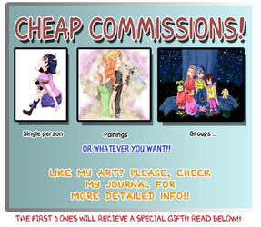 Commissions  +  Gifts