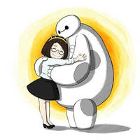 Marta and Baymax