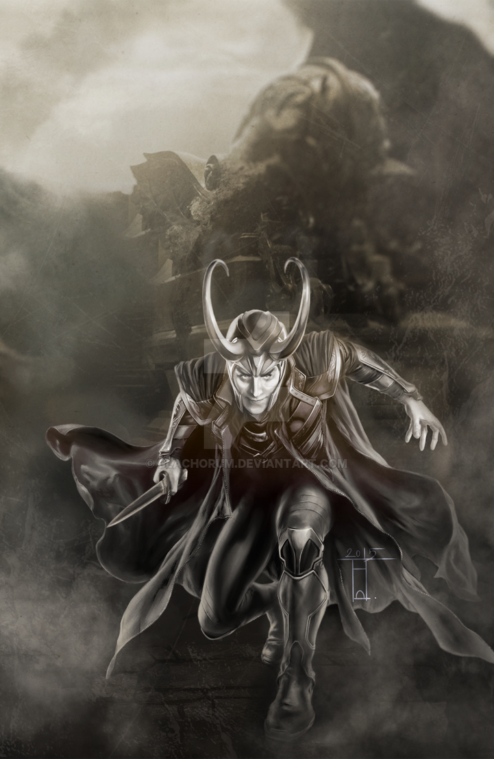 Loki by Blachorum