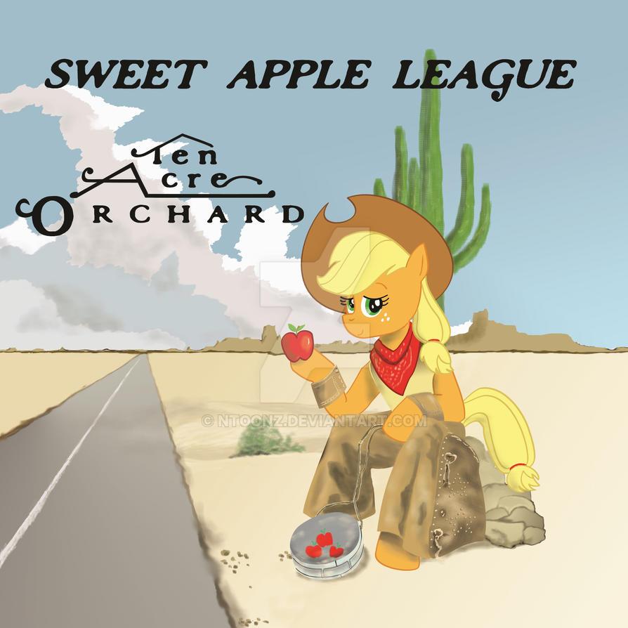 AppleJack Album Cover Parody by NToonz