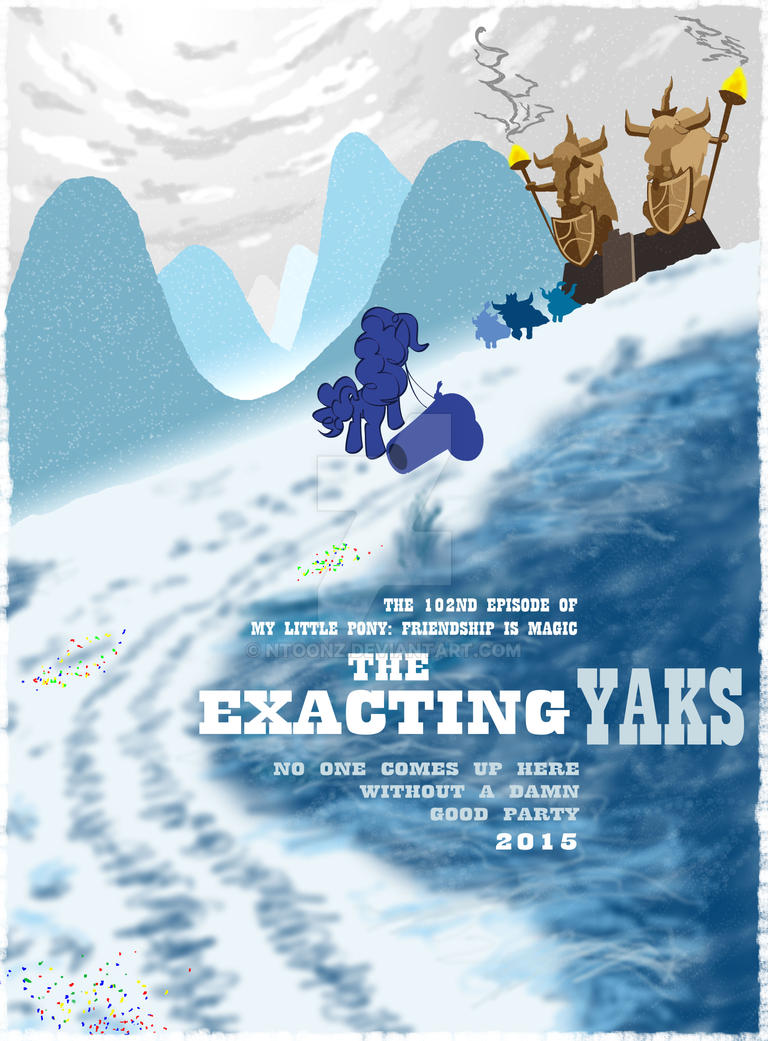 The Exacting Yaks by NToonz