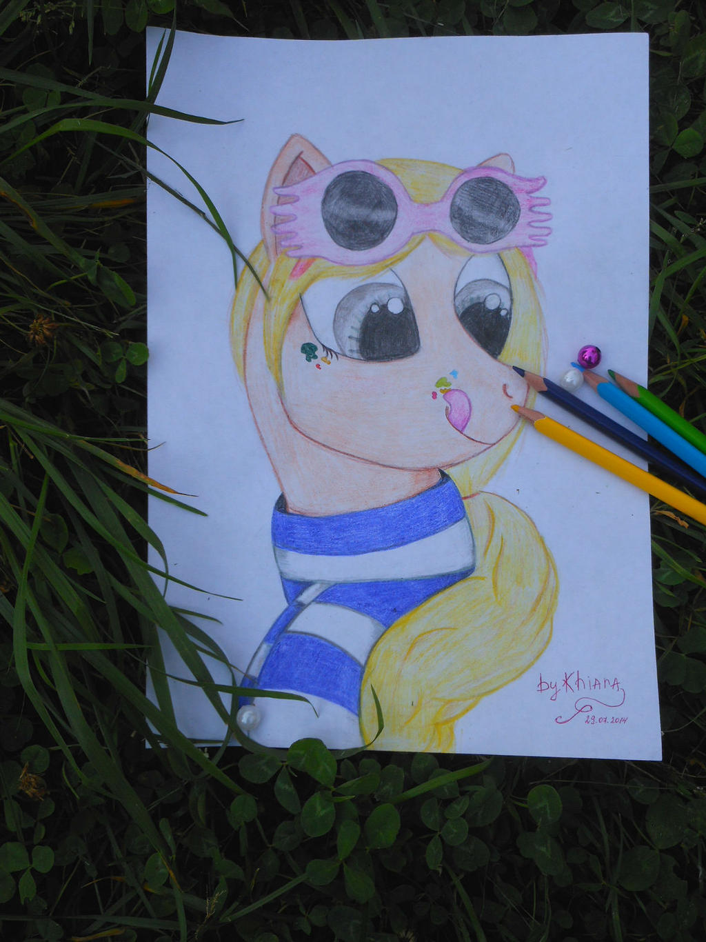 Fan Art Luna Lovegood By Kawaii Caramelca On Deviantart