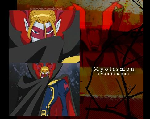 Myotismon by privatecomedy