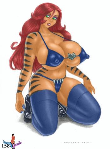 Tigra by Rinaldi by Groovygoddess