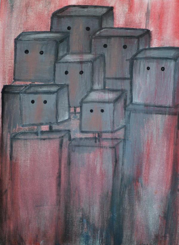 Robot Crisis by Resaturatez