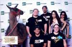 Red Carpet MN Team with Llama