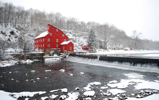 Frosted Clinton Mill
