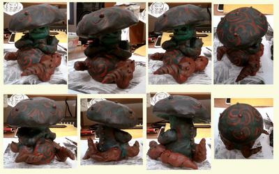 Clay Mushroom Monster?