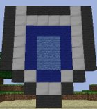 Minecraft Art: 1st Shield from A Link to the Past by GodofDarness18
