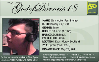 My new devID by GodofDarness18